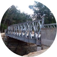 Panel Bridge Steel